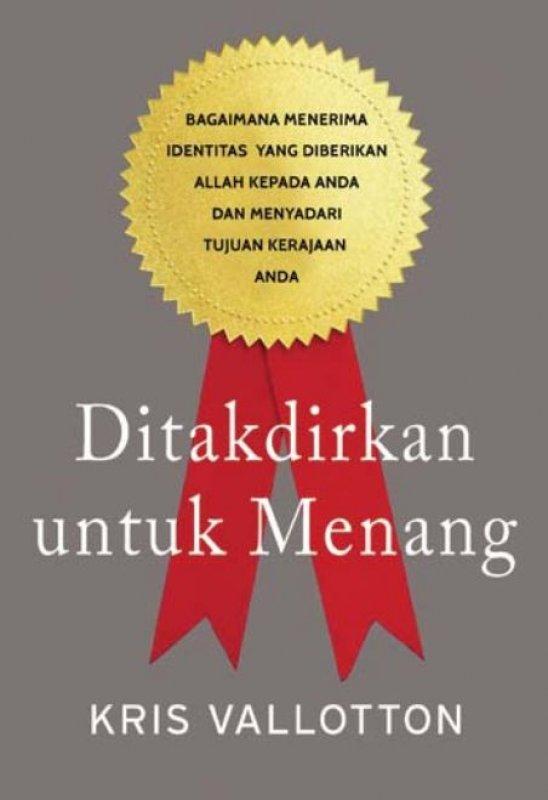 Cover Buku Ditakdirkan untuk Menang