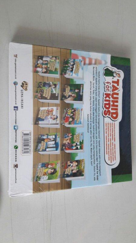 Cover Belakang Buku 1 Set Seri Tauhid for Kids