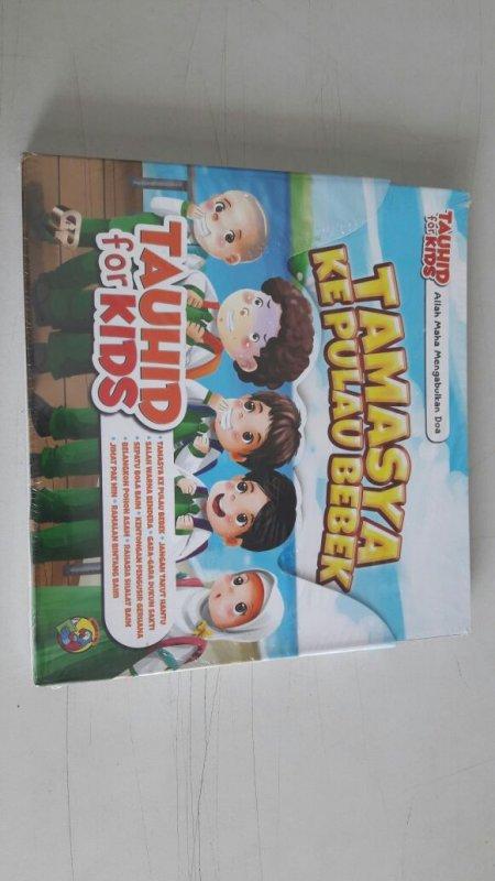 Cover Buku 1 Set Seri Tauhid for Kids