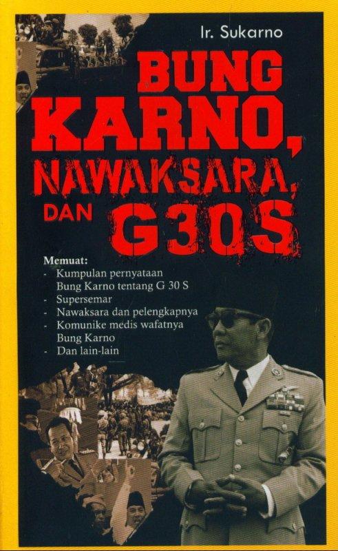 Cover Buku Bung Karno, Nawaksara Dan G30S
