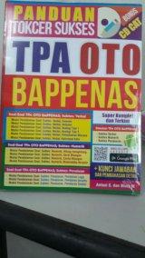 PANDUAN TOKCER SUKSES TPA OTO BAPPENAS (BONUS CD CAT)