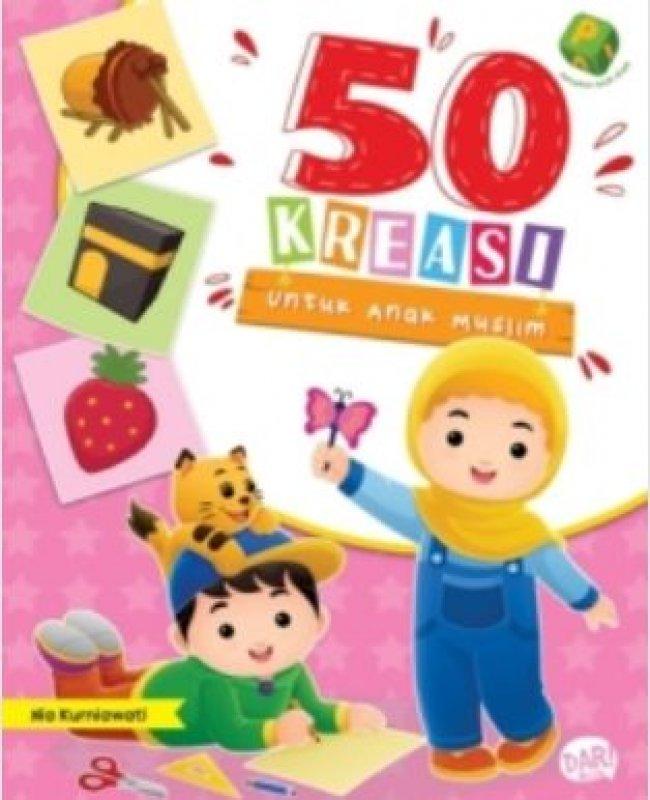 Cover Buku PAI: 50 KREASI ANAK MUSLIM
