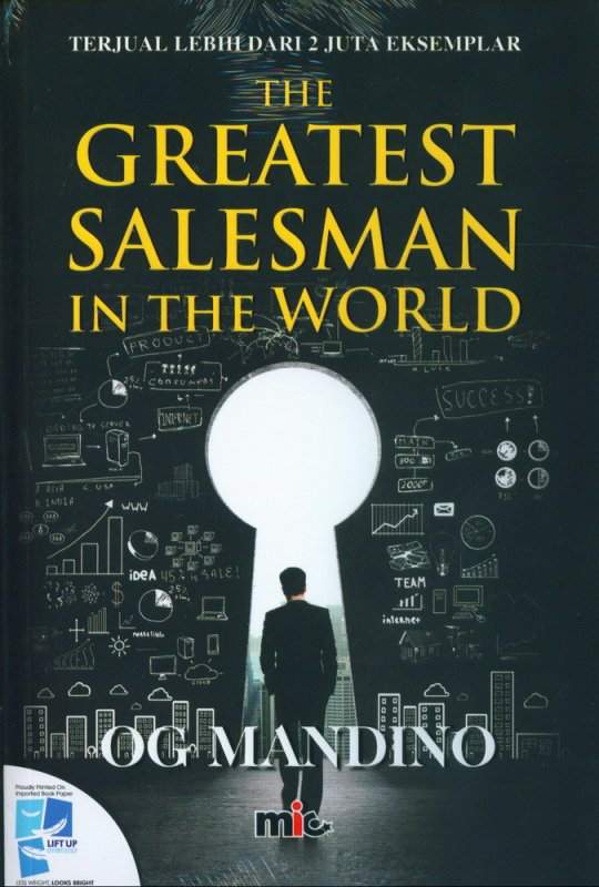 Cover Buku The Greatest Salesman In The World
