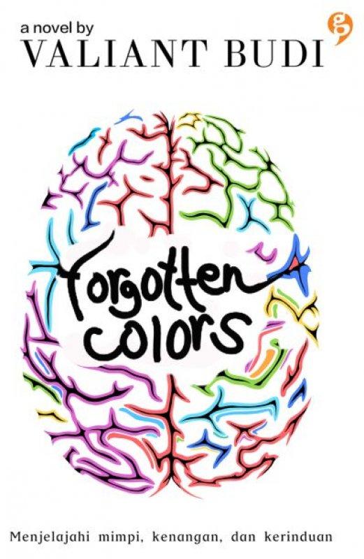 Cover Buku Forgotten Colors [Edisi TTD Bonus Notes]