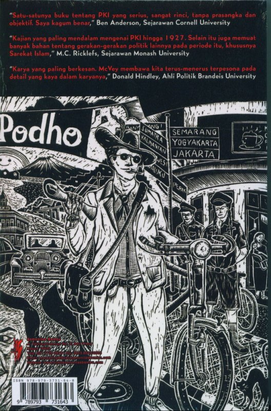 Cover Belakang Buku Kemunculan Komunisme Indonesia (Cover Baru)