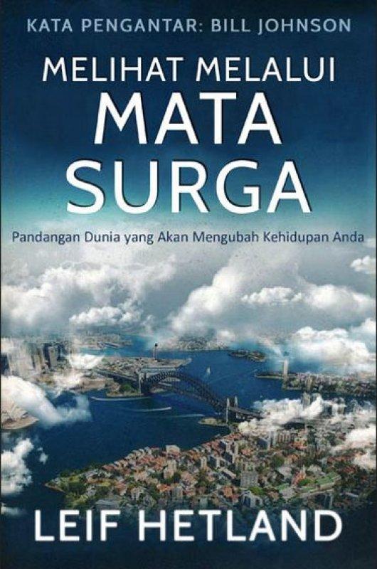 Cover Buku Melihat Melalui Mata Surga