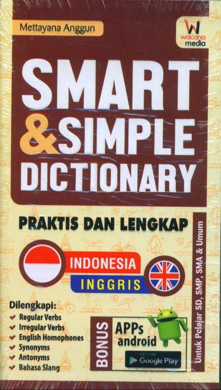 Cover Buku SMART & SIMPLE DICTIONARY PRAKTIS DAN LENGKAP INDONESIA-INGGRIS - INGGRIS-INDONESIA