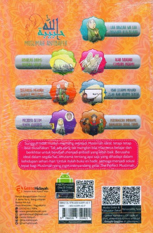 Cover Buku Muslimah Antibaper: Days With Love, Lifestyle, Hope & Fight