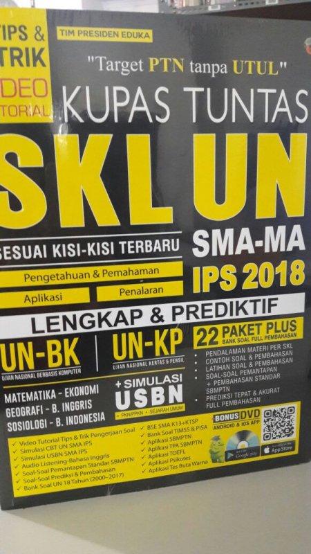 Cover Buku KUPAS TUNTAS SKL UN SMA-MA IPS 2018
