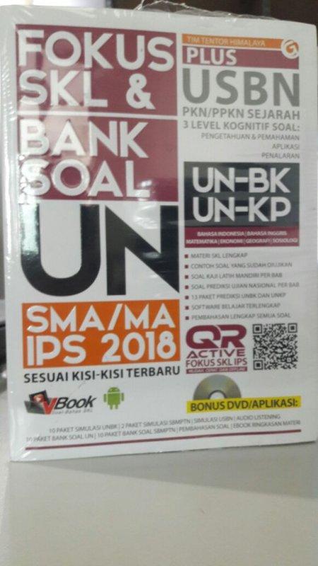Cover Buku FOKUS SKL & BANK SOAL UN SMA/MA IPS 2018