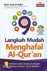 9 Langkah Mudah Menghafal Al Quran+Dvd (BK)
