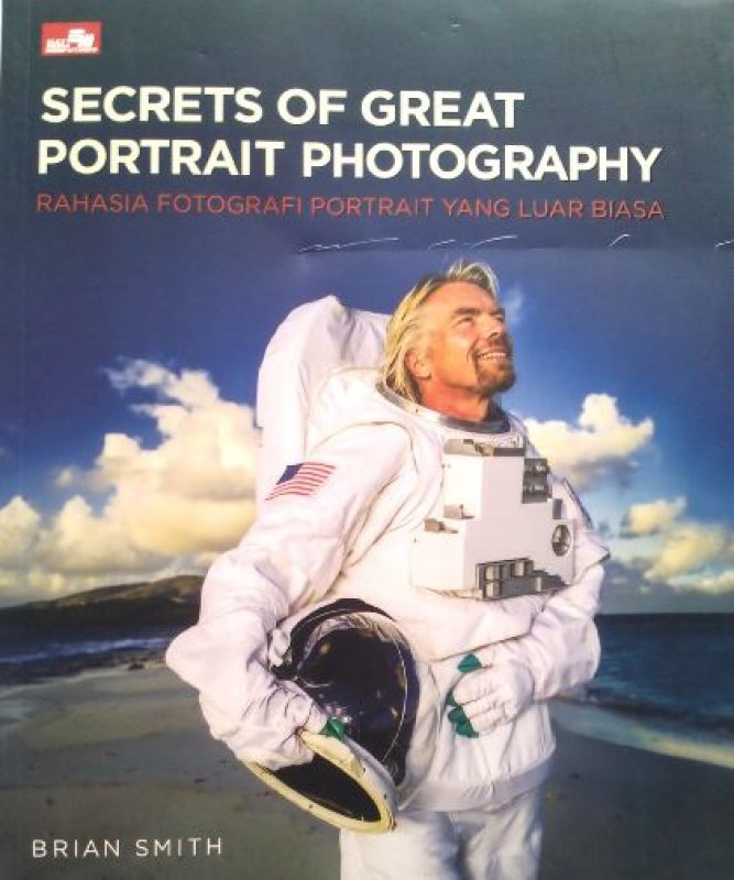 Cover Buku Secret of Great Potrait Photography