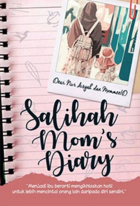 Cover Buku Salihah Moms Diary