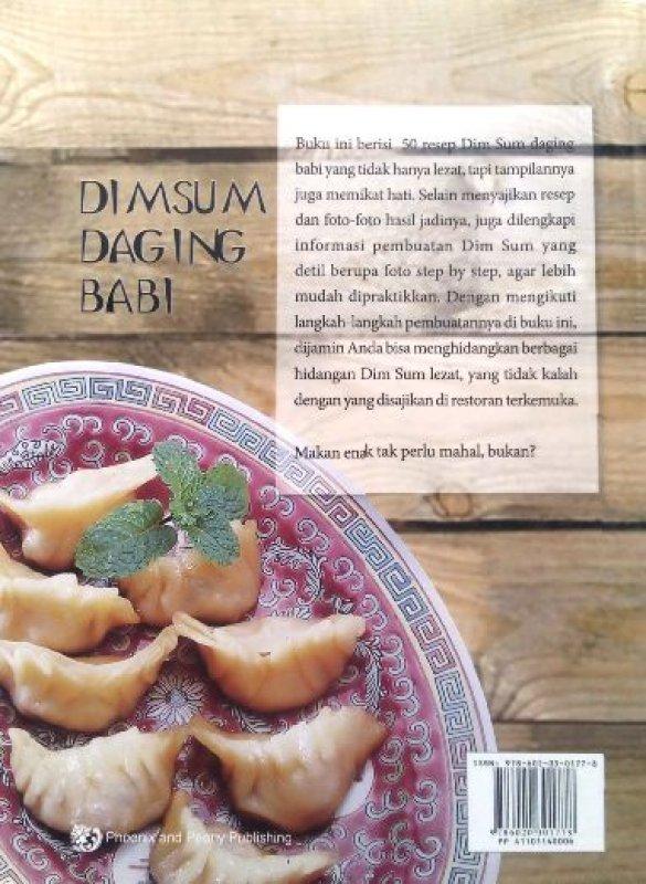 Cover Belakang Buku Dimsum Daging Babi (Disc 50%)