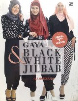 Gaya Black & white jilbab (Disc 50%)