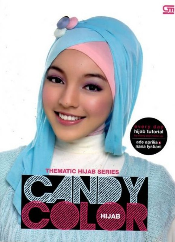 Cover Buku Thematic Hijab Series: Candy Color Hijab
