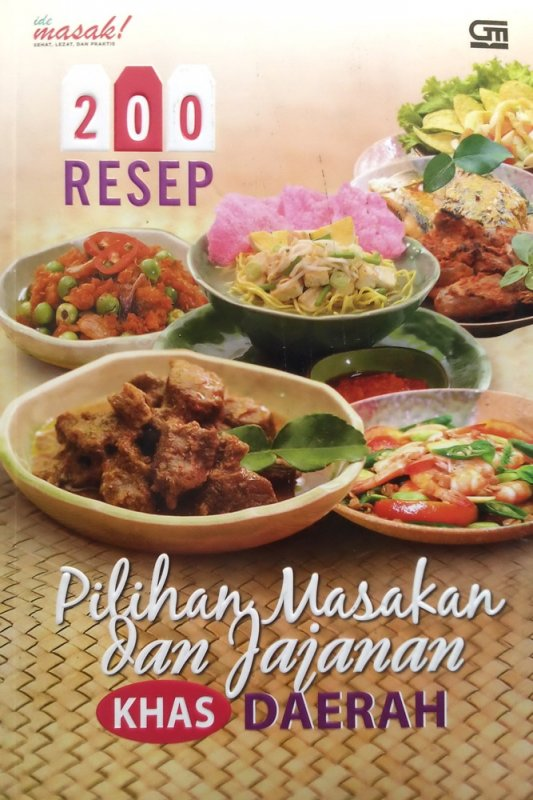 Cover Buku 200 Resep Pilihan Masakan dan Jajanan Khas Daerah (Disc 50%)