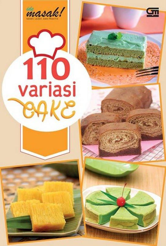 Cover Buku 110 Variasi Cake