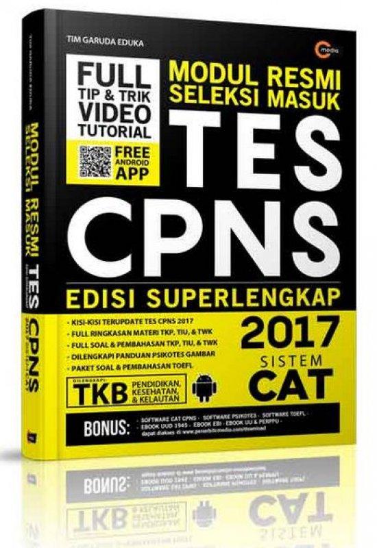 Cover Buku Modul Resmi Seleksi Masuk Tes CPNS 2017