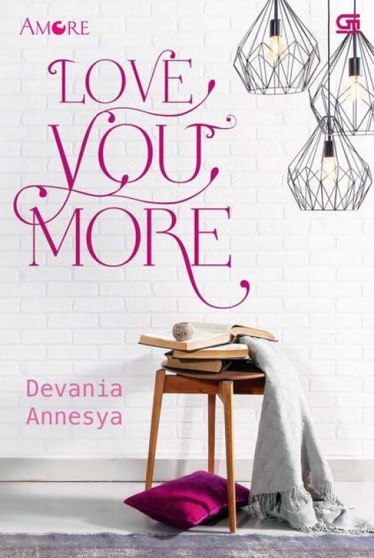 Cover Buku Amore: Love You More