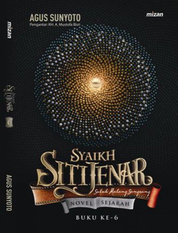Cover Buku Syaikh Siti Jenar: Suluk Malang Sungsang (Buku Ke- 6)