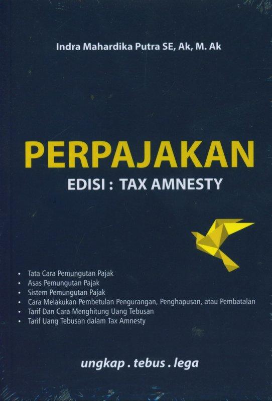 Cover Buku Perpajakan Edisi : Tax Amnesty