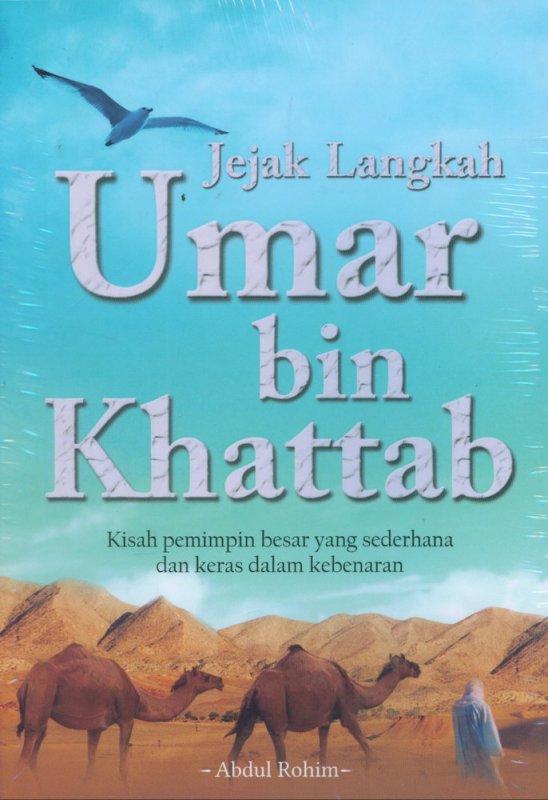 Cover Buku Jejak Langkah Umar bin Khattab