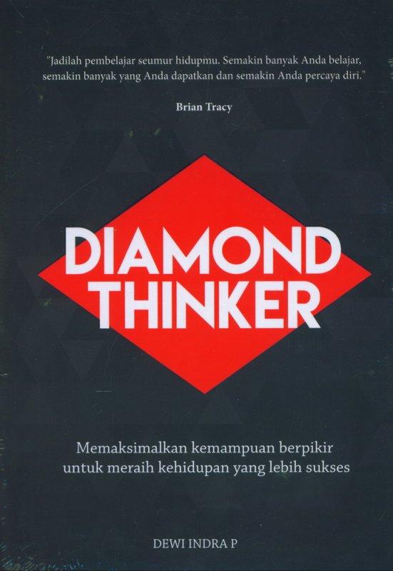 Cover Buku Diamond Thinker