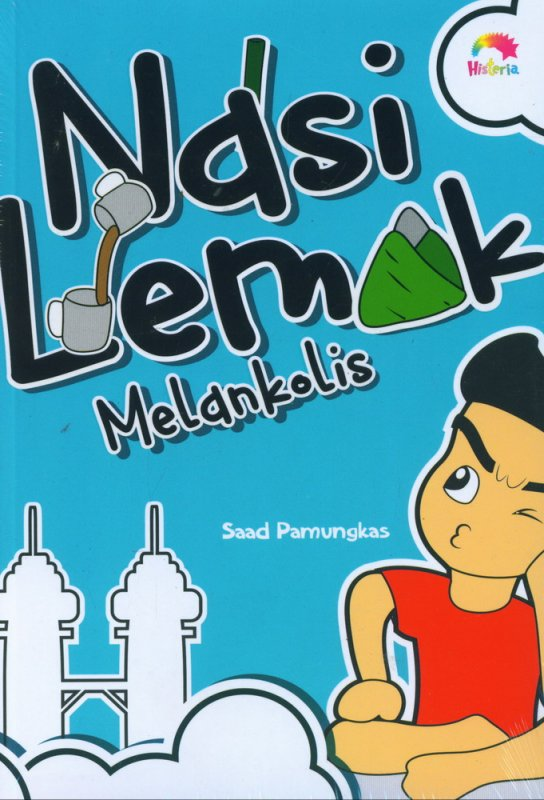 Cover Buku Nasi Lemak Melankolis
