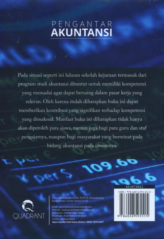 Cover Belakang Buku Pengantar Akuntansi