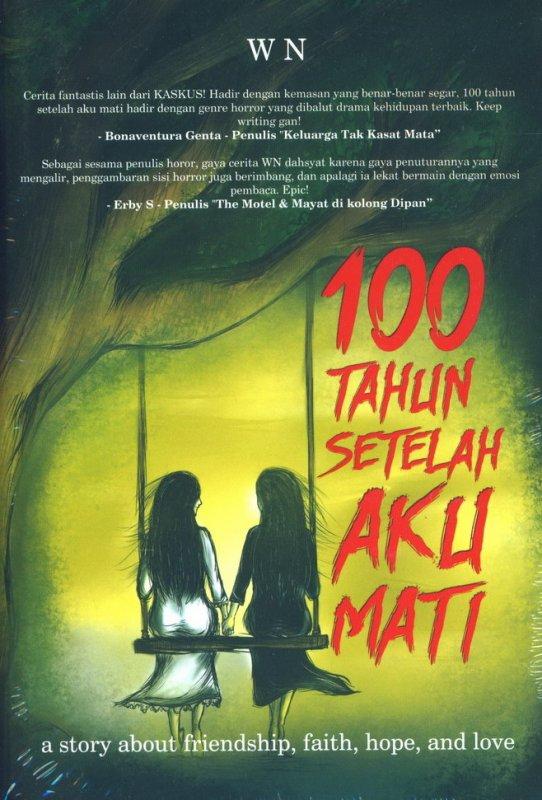 Cover Buku 100 Tahun Setelah Aku Mati