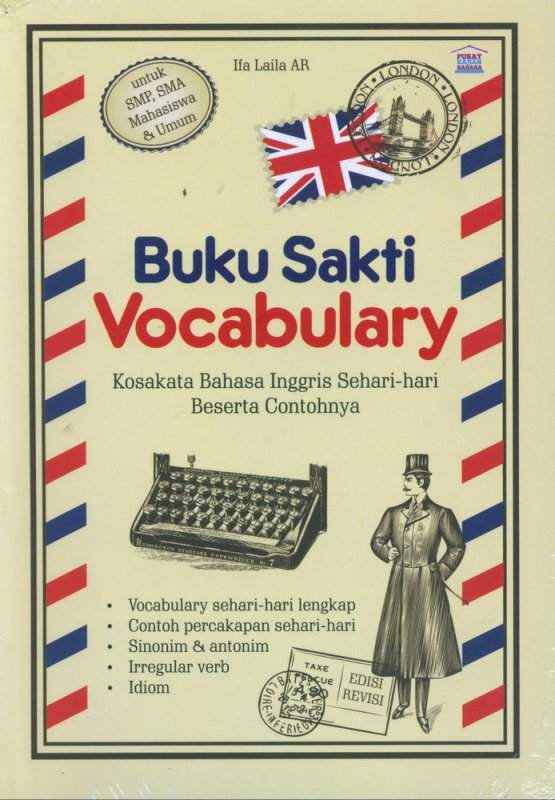 Cover Buku Buku Sakti Vocabulary