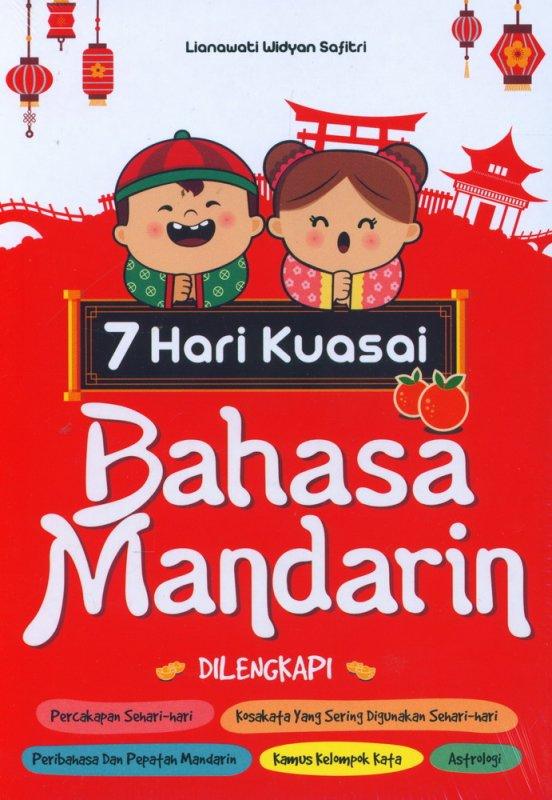 Cover Buku 7 Hari Kuasai Bahasa Mandarin