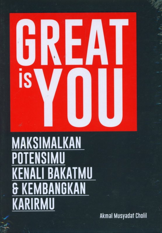 Cover Buku GREAT is YOU