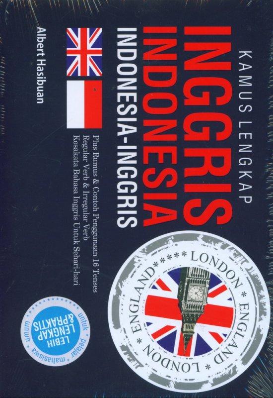 Cover Buku Kamus Lengkap Inggris-Indonesia, Indonesia-Inggris