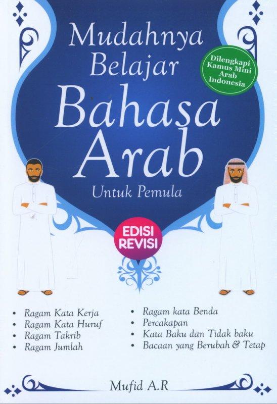 Cover Buku Mudahnya Belajar Bahasa Arab untuk Pemula Edisi Revisi