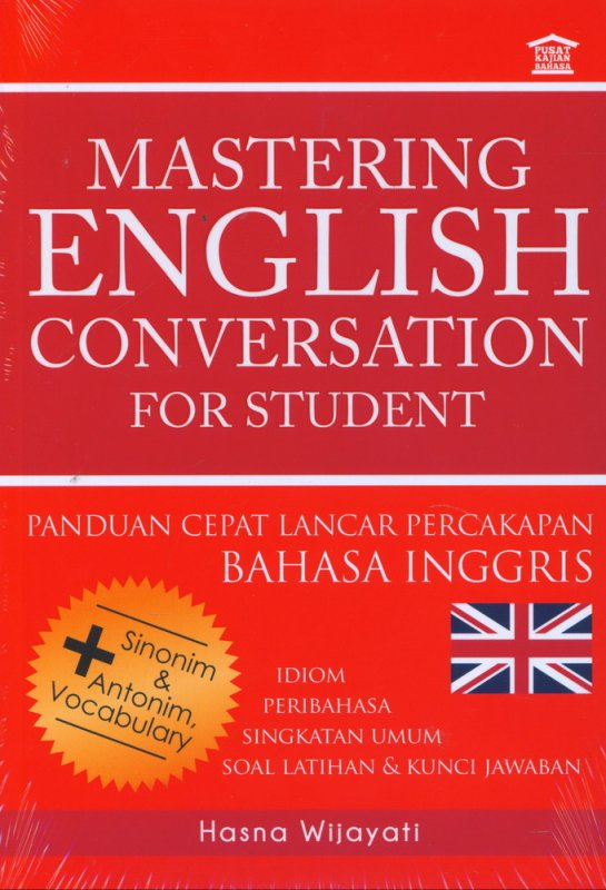 Cover Buku Mastering English Conversation For Student