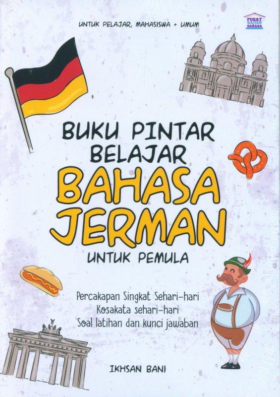 Cover Buku Buku Pintar Belajar Bahasa Jerman Untuk Pemula