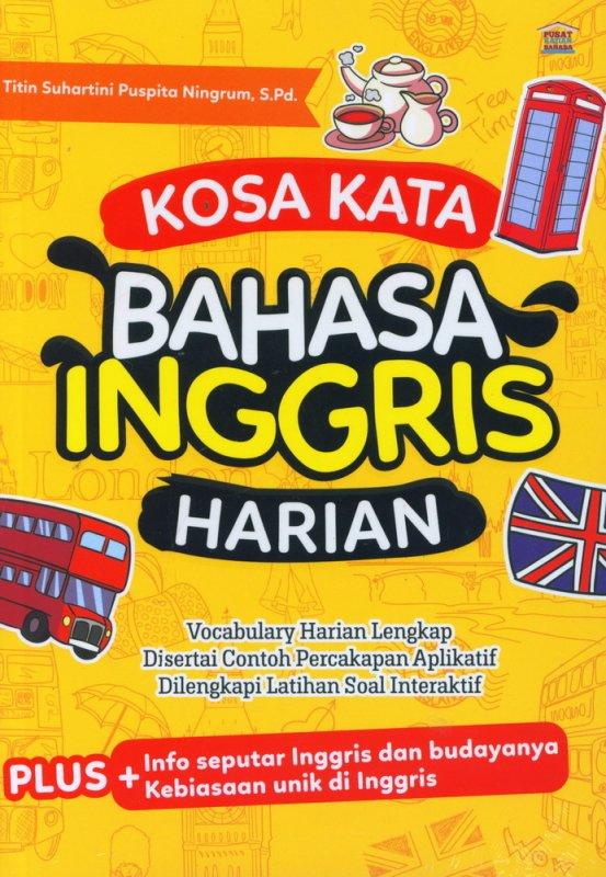 Cover Buku Kosa Kata Bahasa Inggris Harian