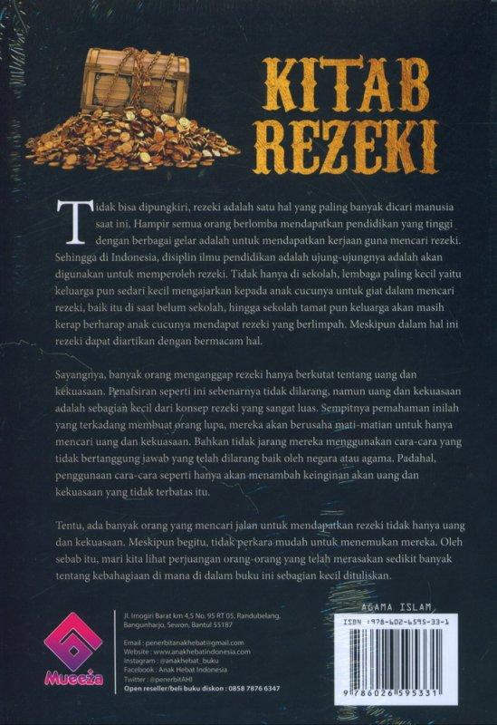 Cover Belakang Buku Kitab Rezeki: Bagaimana Agar Engkau Dikejar Rejeki yang Berlimpah & Berkah