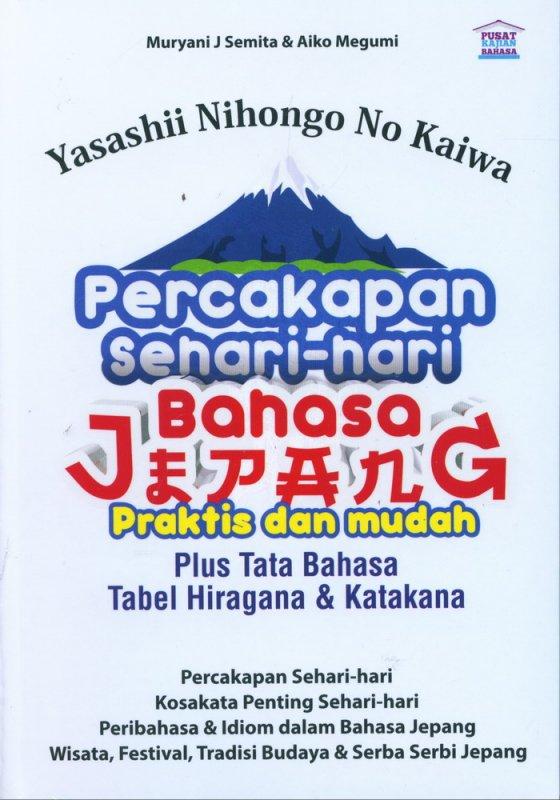 Cover Buku Yasashii Nihongo No Kaiwa Percakapan Sehari-hari Bahasa Jepang