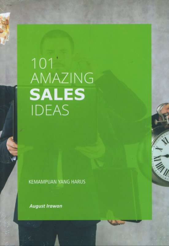 Cover Buku 101 Amazing Sales Ideas