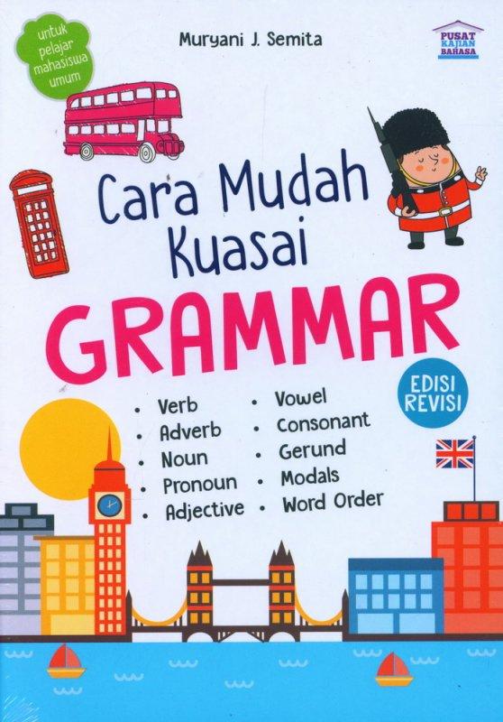 Cover Buku Cara Mudah Kuasai Grammar
