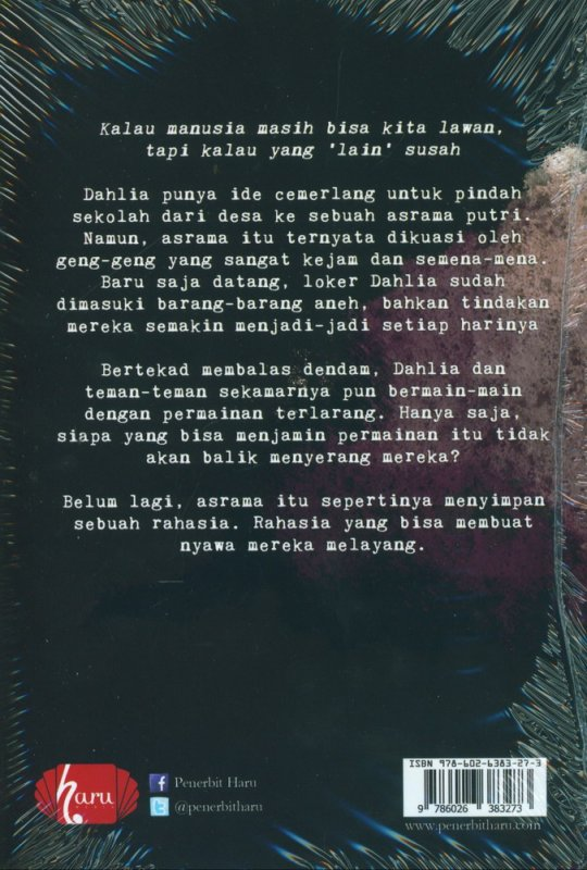 Cover Belakang Buku Asrama