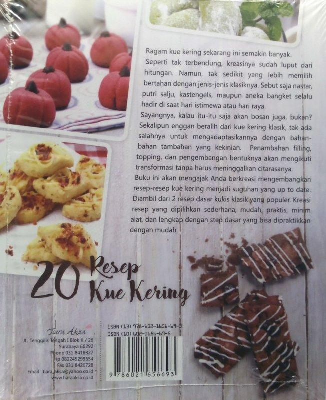 Cover Belakang Buku 20 Resep Kue Kering (Disc 50%)