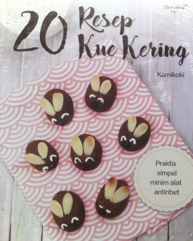 Cover Buku 20 Resep Kue Kering (Disc 50%)