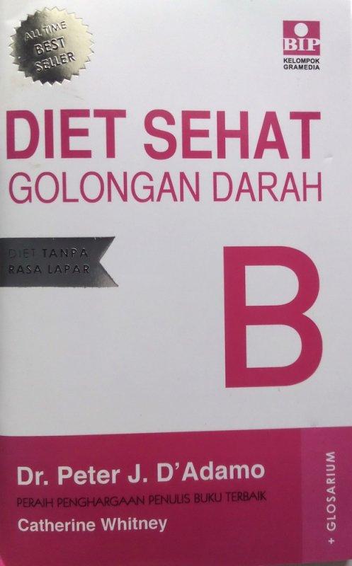 Cover Buku Diet Sehat Golongan Darah B