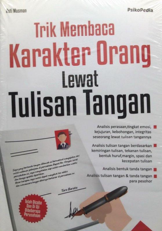 Cover Buku Trik Membaca Karakter Orang Lewat Tulisan Tangan (Disc 50%)