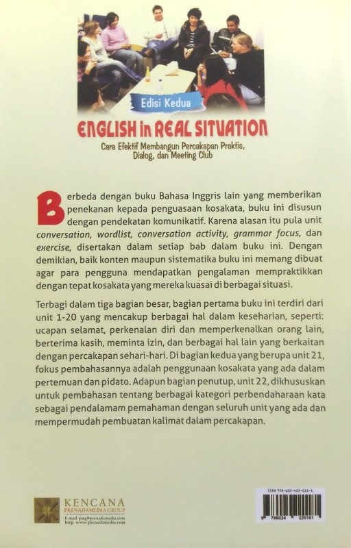 Cover English in Real Situation