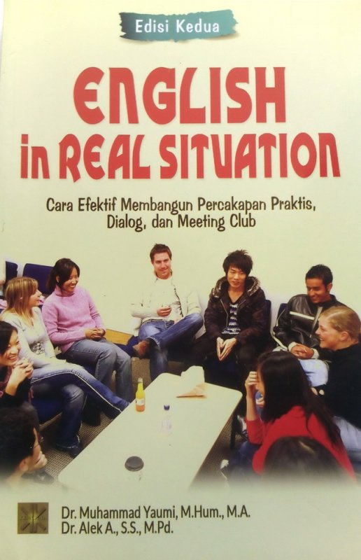 Cover Depan Buku English in Real Situation